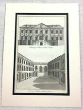 Antique (Pre - 1900) Architecture Original Art Prints