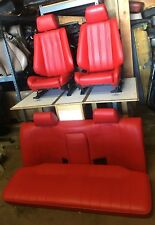 BMW e30 325i 318i New  IS & I Sport Seats Set 1982-92 IN Red/Any Color  $1800