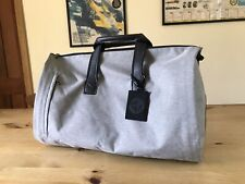 Alcantara Alfa Romeo Holdall - travel bag that's also a suit carrier