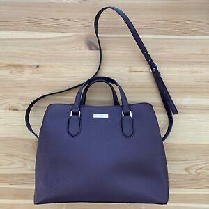 KATE SPADE New York Purple Satchel Purse Bag