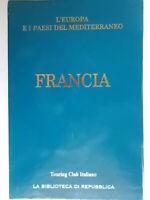 FranciaTouring Club repubblicaguide blu guida viaggi libro nuovo cofanetto 59