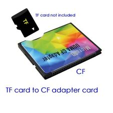 Micro SD TF to CF Card ADAPTER MMC SDHC SDXC COMPACT FLASH TYPE I UDMA
