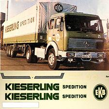 MERCEDES SK kieserling Expedición de 1:87 ADHESIVO Camión ADHESIVOS