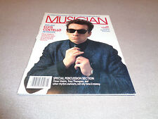Musician - March 1986 - Elvis Costello Cover - Ian Stewart - Al Green