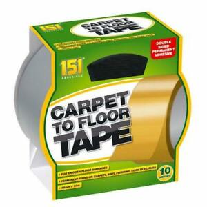 Carpet To Floor Tape Adhesive Strong & Reliable Double Sided Rugs 48mm x 10m