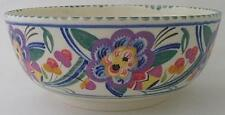 Large Early Poole Pottery Bowl - V Pattern - 1920's / 1930's Art Deco