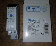 Relais temporisé Multifonctions FINDER 80.01.0.240.0000 bobine 230V 1 CT