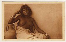LEHNERT & LANDROCK Bédouine / Arab Girl #217 * Vintage Ethnic Nude PC