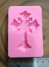 Ornate Cross Silicone Fondant Mould
