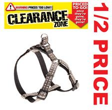 CLEARANCE - FERPLAST Cricket MEDIUM Dog Harness GREY - NOW 1/2 PRICE
