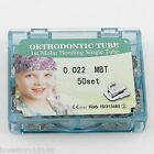 200x Dental Orthodontic Buccal Tube Non-Convertible Bonding MBT 022 1st Molar 2G