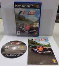 Console Game Gioco SONY Playstation 2 PS2 PAL Play ITALIANO F1 FORMULA ONE 06 It