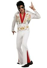 ADULT DELUXE ELVIS COSTUME SIZE LARGE (with defect)