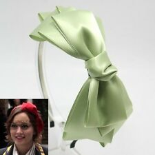 GOSSIP GIRL HEADBAND HAIR ACCESSORY HAT BOW BAND BRIDAL WEDDING HEADPIECE HB1376
