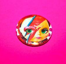 Blythe Doll David Bowie Aladdin Sane button pin badge