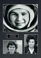 Valentina TERESHKOVA 16x12 Mounted Photographs Cosmonaut Space Photo Montage 2