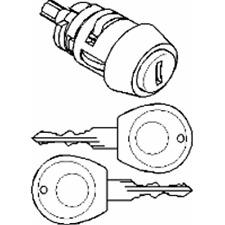 Schließzylinder Zündschloß - Topran 103 112