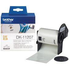 1 Brother Genuine DK-11207 DK11207 White CD/DVD Label - 58mm diameter