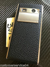 Genuine Vertu ASTER Onyx CALF Black Super RARE Brand NEW in BOX A Gotta Have!