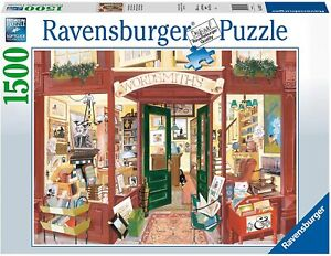 Jigsaw Puzzle - WORDSMITH'S BOOKSHOP - 1500 Pieces