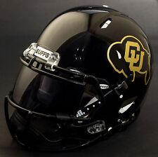 COLORADO BUFFALOES NCAA Authentic GAMEDAY Football Helmet w/ OAKLEY Eye Shield