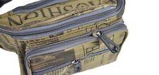 New Men Canvas Cloth Waist Pack Fanny Pack Outdoor Waist Bum Bag Travel Sports