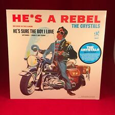 THE CRYSTALS He's A Rebel 2012 USA Vinyl LP BRAND NEW SEALED 180 gram