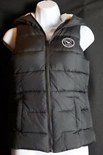 Girls Abercrombie & Fitch Kids Sherpa Puffer Vest Navy Blue Size X-Large NWT