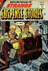 Strange Suspense Stories 30 Comic Book Cover Art Giclee Reproduction on Canvas