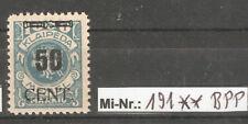 Memelgebiet Mi-Nr.: 191  sauber postfrisch tiefst gepr. Huylmans.BPP