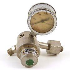 Smith Welding Equip. Compressed Gas Regulator 249-243 Oxygen Steampunk