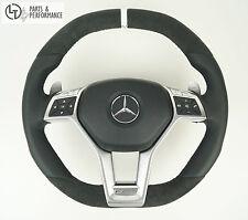 Leder Lenkrad für Mercedes-Benz 45 63 AMG W204 W212 * X156 W176 R231 R172 Perf.
