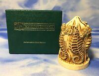 """HTF Harmony Kingdom """"Horse Play"""" Seahorses Box Figurine TJSE w/ BOX EUC"""