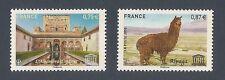 FRANCE 2010 - Timbres de Service UNESCO n° 148 et 149 NEUFS** LUXE MNH