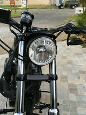 """HARLEY SPORTSTER  5-3/4"""" REPLACEMENT HEADLIGHT WITH REPLACEABLE CLEAR H4 BULB"""