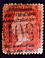 CatalinaStamps: Great Britain Stamp #33 Used Plate 154, SCV=$3, #A-2