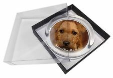 More details for lakeland terrier dog 'love you mum' glass paperweight in gift box c, ad-lt2lympw