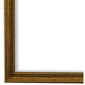 Bilderrahmen Rahmen Gold Vintage Barock Holz Empoli 1,5 - NEU