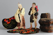 Lovely set of Chinese/Japanese dolls Li Tieh Kuai & Chang Kuo Lao Antique