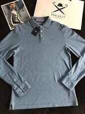 HACKETT LONDON - Polo Shirt (M Size Slim fit (Ocean Colour) - RRPP 149€