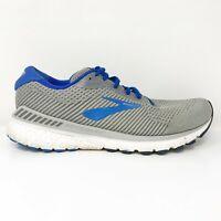 Brooks Mens Adrenaline GTS 20 1103071D051 Gray Blue Running Shoes Size 11.5 D