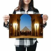 A3 - Awesome Louvre Palace Paris France Poster 42X29.7cm280gsm #8977