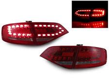 DEPO Real OEM RS4 Look LED Cherry Red 4PCS Tail Light 09-12 Audi A4 B8 4D Sedan