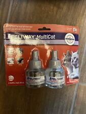 Feliway MultiCat Diffuser Refill, 48-ml refill 2 Pack FREESHIP