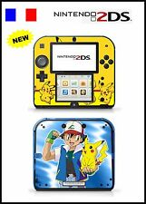 PELLE STICKER ADESIVO DECORATIVO PER NINTENDO 2DS REF 89 POKEMON