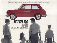 Austin A40 Mk II Saloon & Countryman 1965-68 Original UK Brochure Pub No 2290