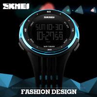 SKMEI Watch Sport Quartz Wrist Men Mens Analog Digital 5 ATM Waterproof Military
