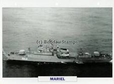 1981 MARIEL Koni-Class Frigate Ship / Cuba Warship Photograph Maxi Card