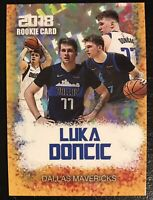 2018 Luka Doncic Rookie Gems Gold Rookie Card Dallas Mavericks