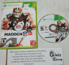 USED Madden NFL 12 XBOX 360 -Canadian Seller-